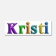 Kristi Shiny Colors 10x3 Car Magnet