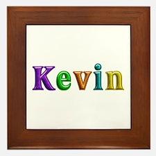 Kevin Shiny Colors Framed Tile