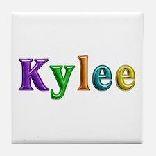 Kylee Shiny Colors Tile Coaster