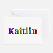 Kaitlin Shiny Colors Greeting Card