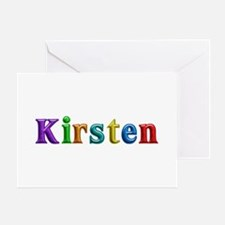 Kirsten Shiny Colors Greeting Card