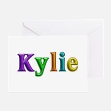 Kylie Shiny Colors Greeting Card