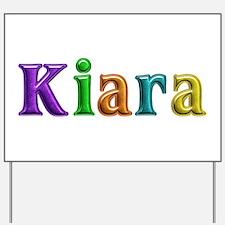 Kiara Shiny Colors Yard Sign