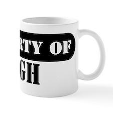 Property of Hugh Small Mug