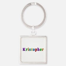 Kristopher Shiny Colors Square Keychain