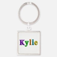Kylie Shiny Colors Square Keychain