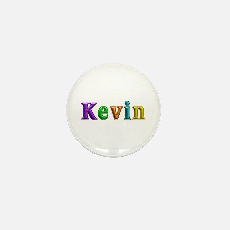 Kevin Shiny Colors Mini Button