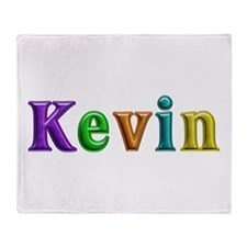 Kevin Shiny Colors Throw Blanket