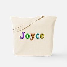 Joyce Shiny Colors Tote Bag