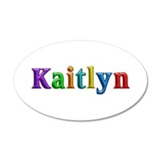 Kaitlyn Shiny Colors Wall Decal