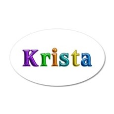 Krista Shiny Colors Wall Decal