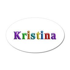Kristina Shiny Colors Wall Decal