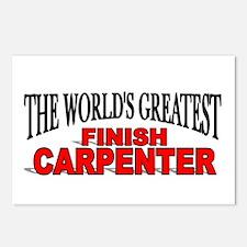 """The World's Greatest Finish Carpenter"" Postcards"