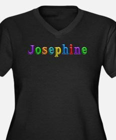 Josephine Shiny Colors Plus Size T-Shirt