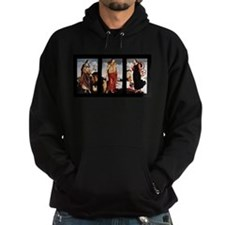 The Three Virtues: Faith, Charity, Hope Hoodie