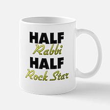 Half Rabbi Half Rock Star Mugs