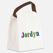 Jordyn Shiny Colors Canvas Lunch Bag