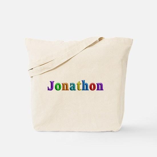 Jonathon Shiny Colors Tote Bag