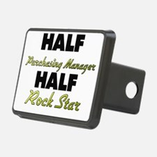 Half Purchasing Manager Half Rock Star Hitch Cover