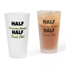 Half Purchasing Manager Half Rock Star Drinking Gl