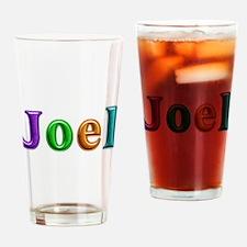 Joel Shiny Colors Drinking Glass