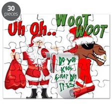 Uh Oh Hump Day Christmas Puzzle