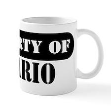 Property of Hilario Coffee Mug