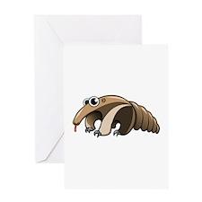 Cartoon Anteater Greeting Cards