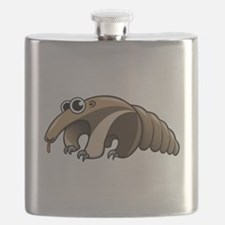 Cartoon Anteater Flask