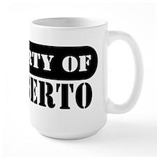 Property of Heriberto Mug