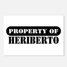 Property of Heriberto Postcards (Package of 8)