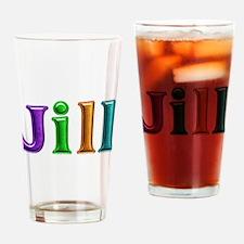 Jill Shiny Colors Drinking Glass