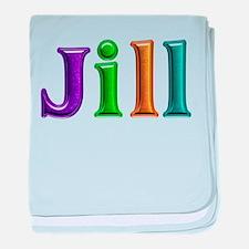 Jill Shiny Colors baby blanket