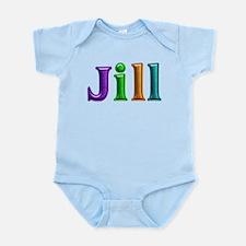 Jill Shiny Colors Body Suit