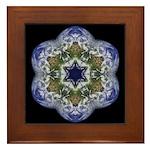 Western Hemisphere Framed Tile