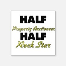 Half Property Auctioneer Half Rock Star Sticker