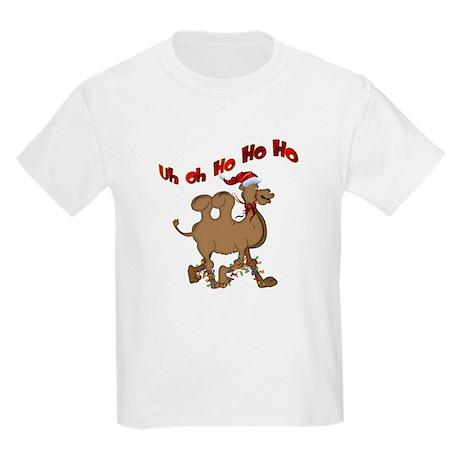 Ho Ho Ho Christmas Hump Day Kids Light T-Shirt
