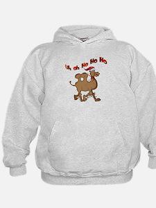 Ho Ho Ho Christmas Hump Day Hoodie