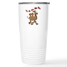 Ho Ho Ho Christmas Hump Day Travel Mug