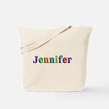 Jennifer Shiny Colors Tote Bag