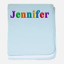 Jennifer Shiny Colors baby blanket