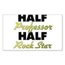 Half Professor Half Rock Star Decal