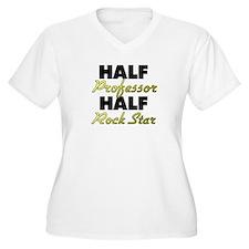 Half Professor Half Rock Star Plus Size T-Shirt