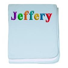 Jeffery Shiny Colors baby blanket