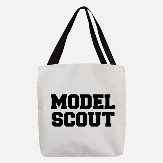 MODEL SCOUT Polyester Tote Bag