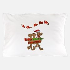 Ho Ho Ho Christmas Hump Day Camel Pillow Case