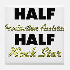 Half Production Assistant Half Rock Star Tile Coas