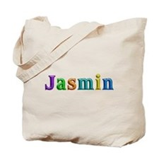Jasmin Shiny Colors Tote Bag