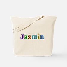 Jasmin Shiny Colors Tote Bag
