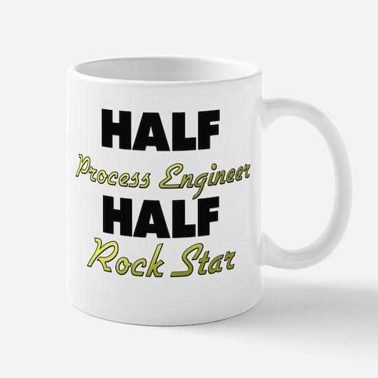 Half Process Engineer Half Rock Star Mugs